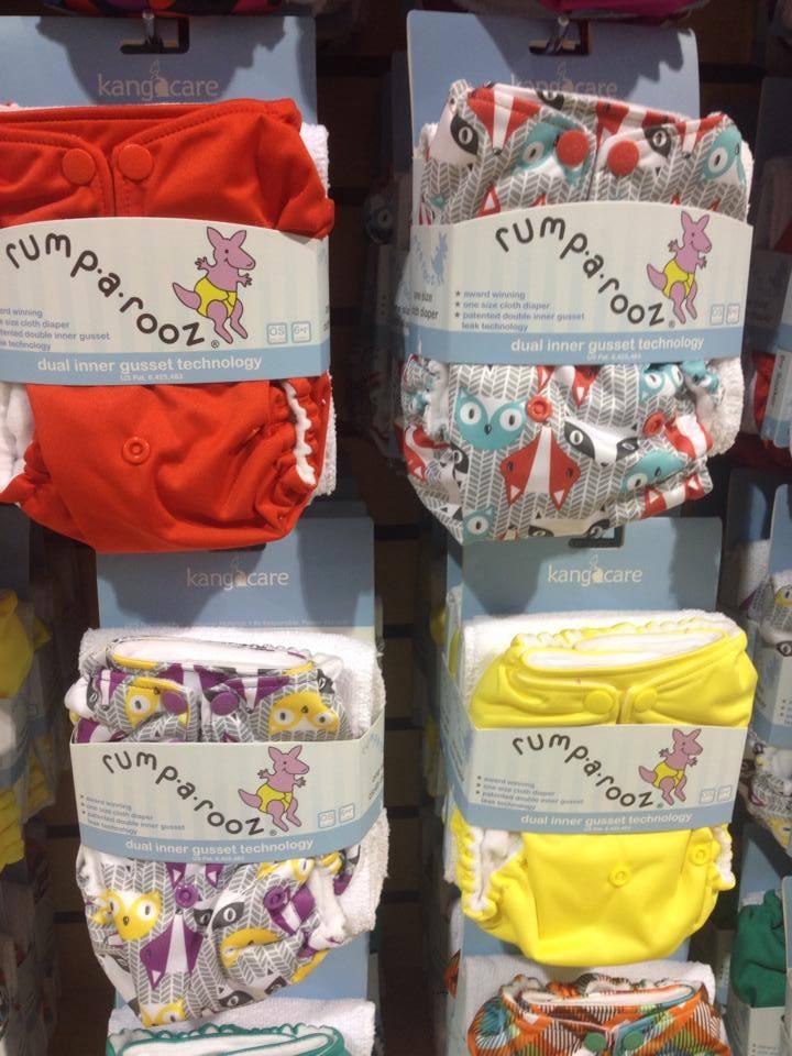 I spy 2 new foxy foxy prints from rumparooz!