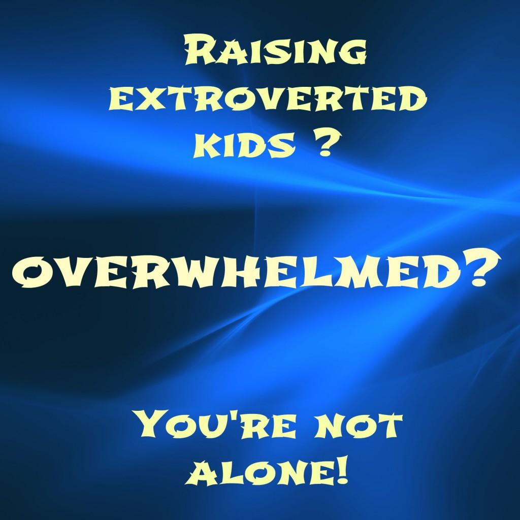 Raising extroverted kids